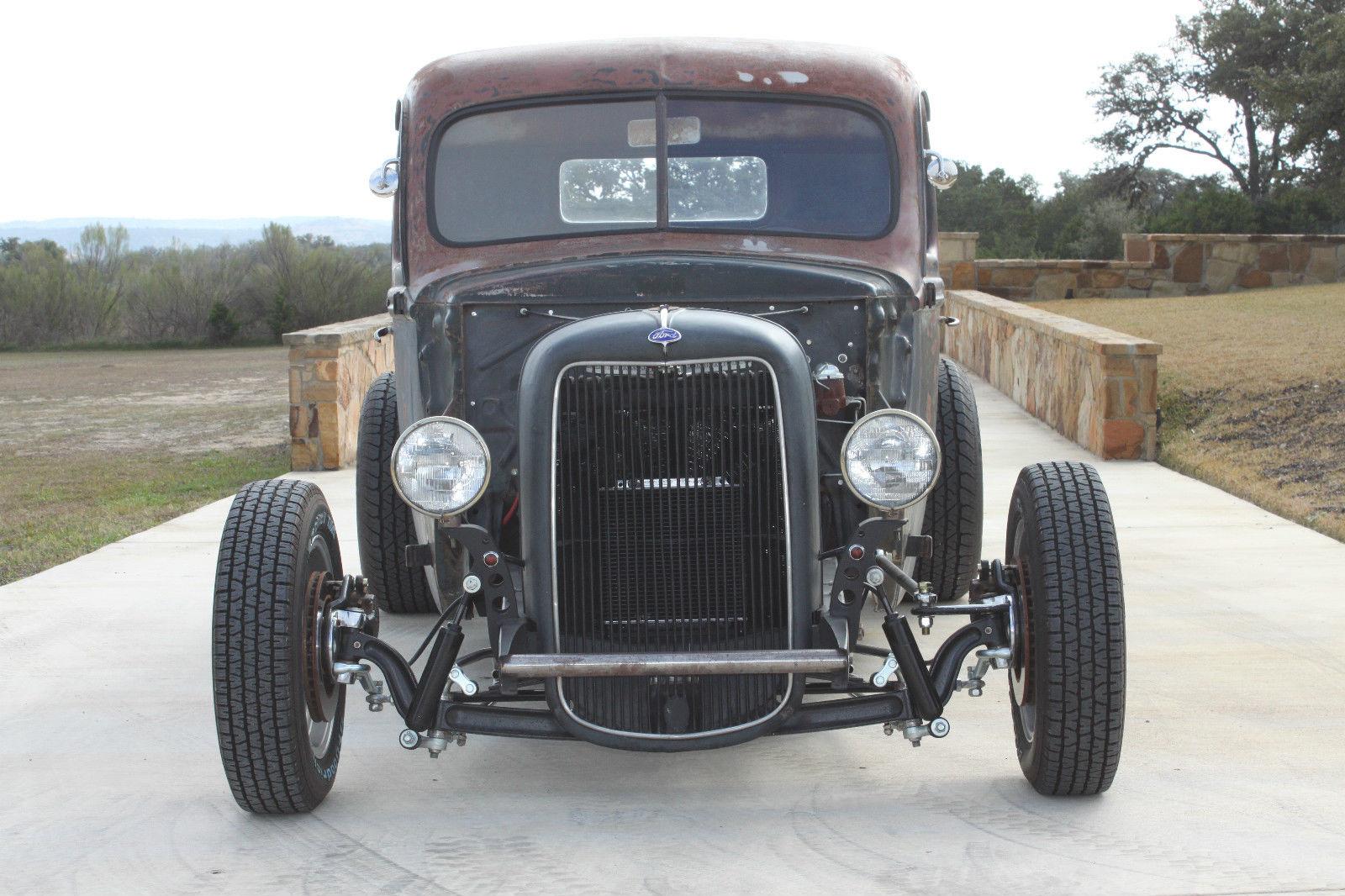 1942 ford pickup hot rod bobber  rat rod ford on ford