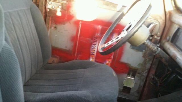 Pickup Air Bags : Ford ratrod pickup truck air bags in rear v