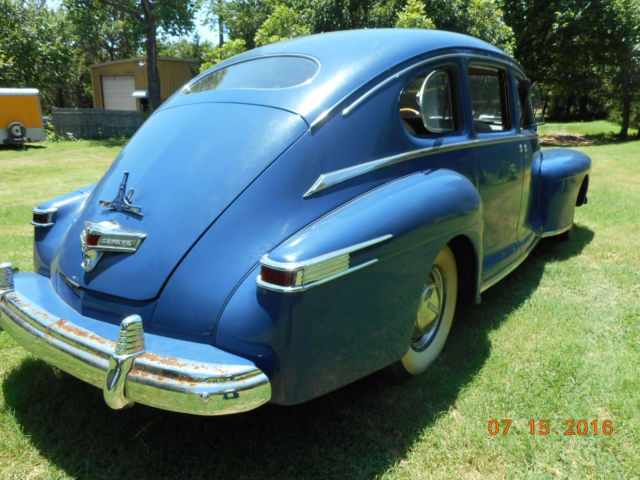 1942 Lincoln Zephyr 4 Door Sedan No Reserve Classic