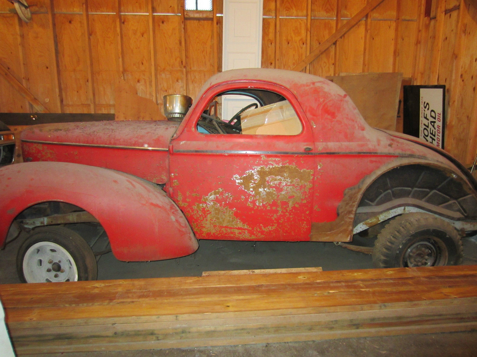 1942 Willys Two Door Coupe 60 Style Gasser Classic