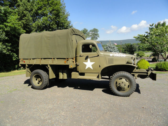 Steering Wheel Restoration >> 1942 WWII G506 Chevy Cargo Truck with Winch Air Transportable - Classic Chevrolet Other 1942 for ...