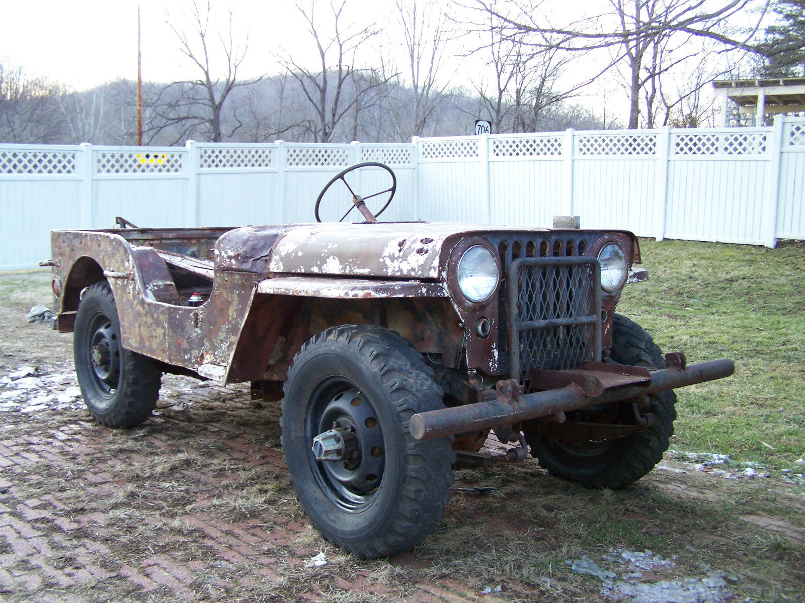 1943 Willys-Ford GPW Jeep - Classic Willys Ford GPW 1943 for sale
