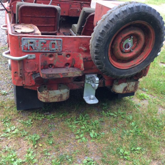 Willys Jeep Truck For Sale >> 1943 WILLYS MB fire jeep for restoration military GPW - Classic Willys 1943 for sale