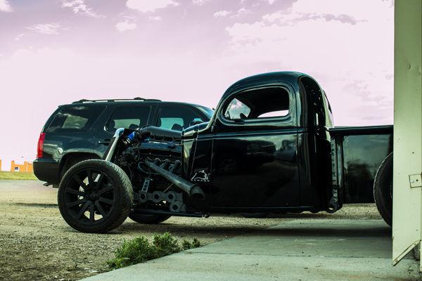 1945 Chevy Truck Chopped Custom Rat Rod Classic
