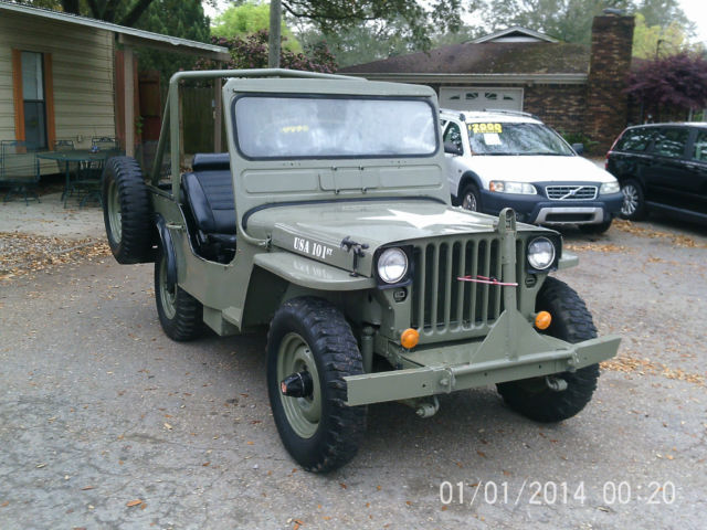 1945 ford army jeep military style great shape very rare look classic jeep 1945 ford army. Black Bedroom Furniture Sets. Home Design Ideas