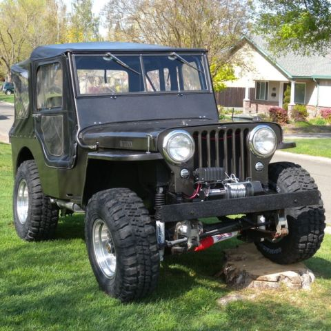 1945 jeep willys cj2a vin 45cj2a 10003 3 complete rebuild classic jeep other 1945 for sale. Black Bedroom Furniture Sets. Home Design Ideas
