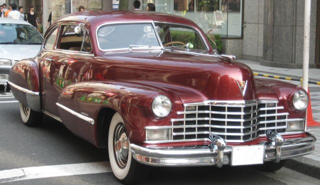 1946 Cadillac Club Coupe - 2 door Fastback - Classic ...