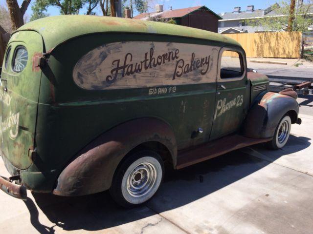 1946 Chevrolet Panel Truck Rat Rod Patina Low Rider Hot