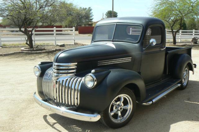 1946 Chevrolet Pickup Truck Chevy 350 700r4 Restored