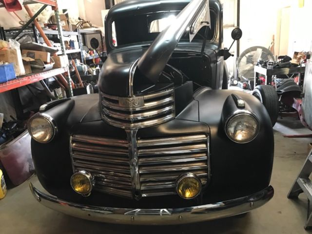 1946 chevy   gmc canopy express panel truck