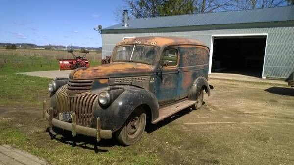 1946 chevy panel truck   classic chevrolet other pickups 1946 for sale