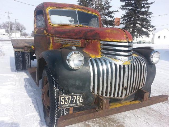 1946 Chevy Pickup Truck Semi Rat Rod Classic Chevrolet