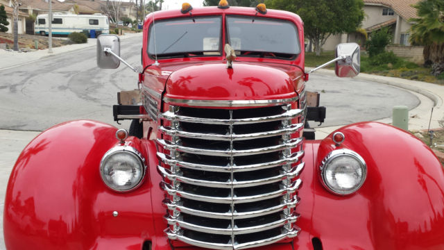 1946 Diamond T dually 15 yrs in the making, built on a Chevy