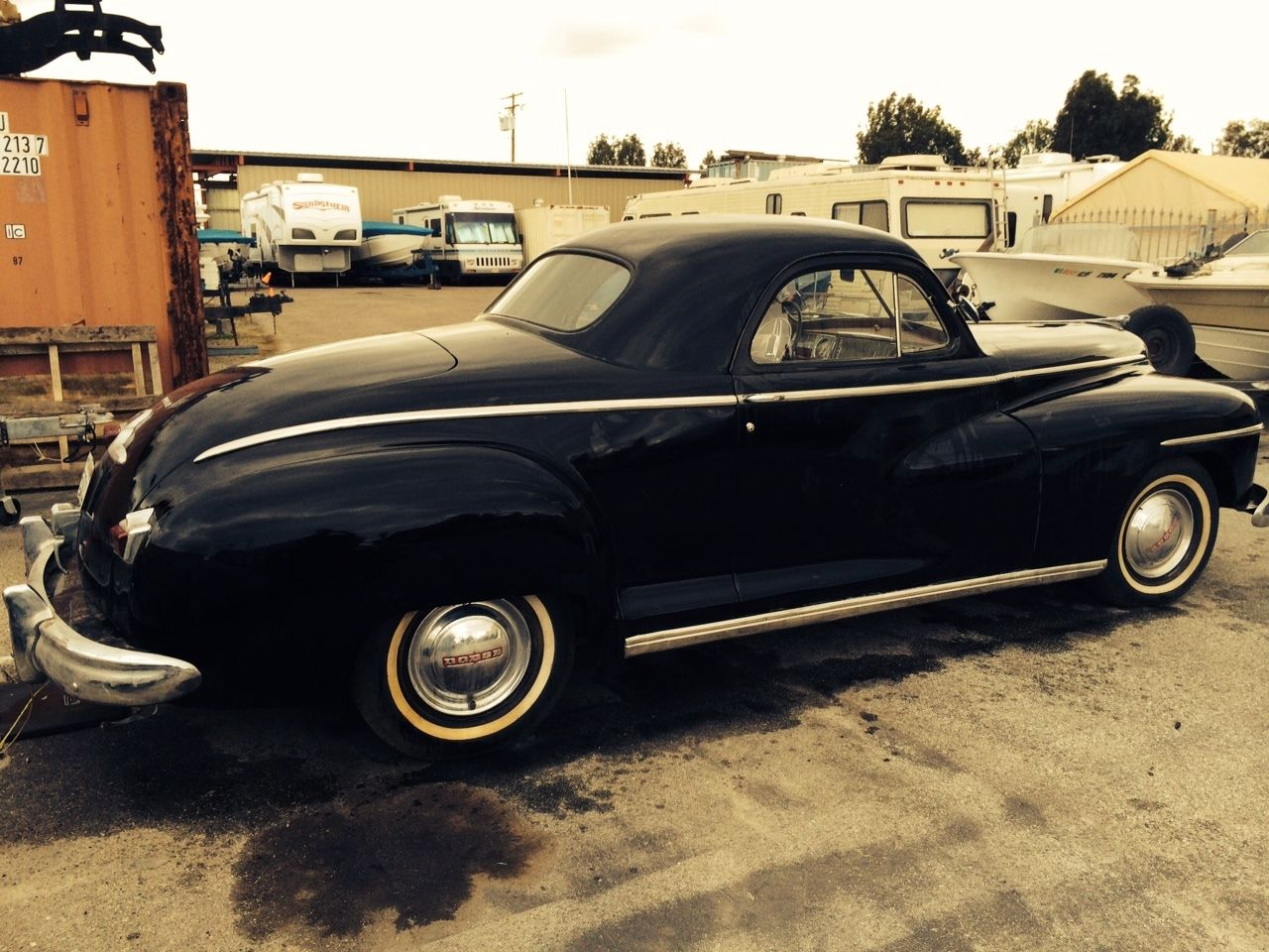 1946 Dodge Business Coupe Very Good Original Condition