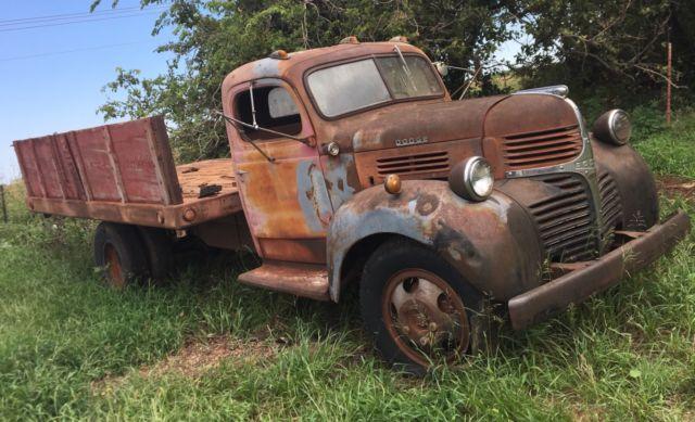1946 Dodge Truck Needs Restoration Oklahoma Barn Find