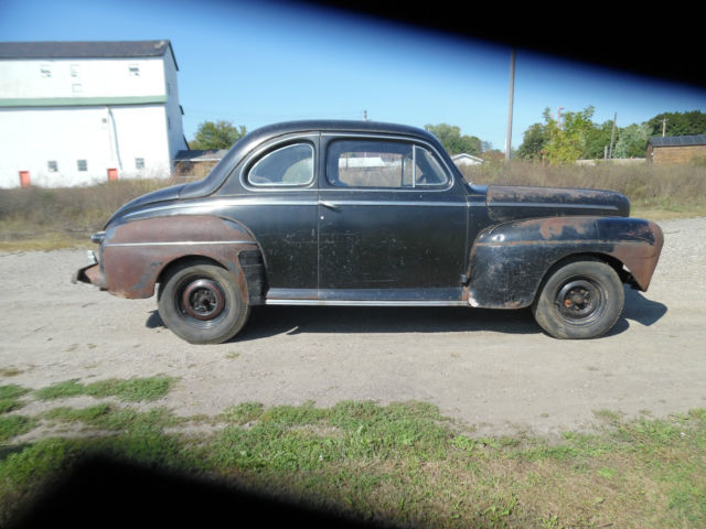 1946 ford 2 door coupe flathead v8 solid project rat rod for 1946 ford 2 door sedan