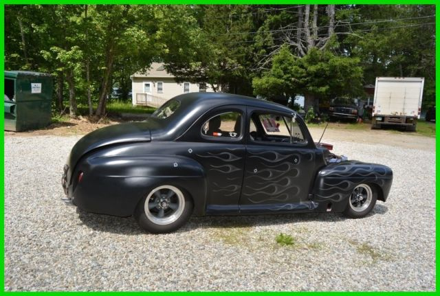1946 ford 2 door custom coupe chevy 350 v8 5 speed for 1946 ford 2 door sedan