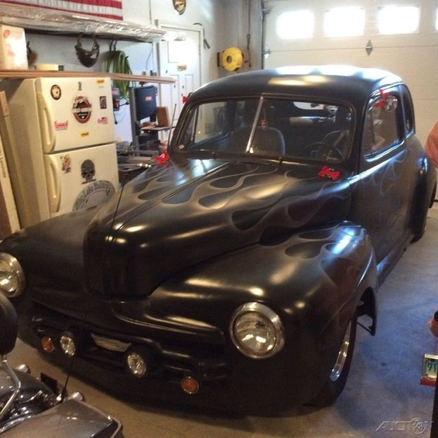 Chevy 350 Engine With Transmission For Sale: 1946 Ford 2-Door Custom Coupe, Chevy 350 V8, 5-Speed