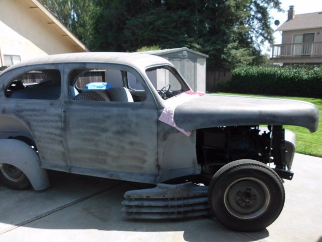 1946 ford 2 door sedan project classic ford super delux for 1946 ford 2 door sedan