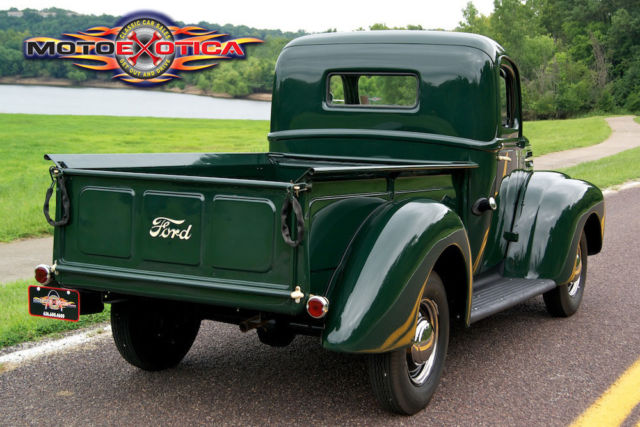 1946 ford half ton pick up truck flat head v8 restored one family owned classic classic ford. Black Bedroom Furniture Sets. Home Design Ideas