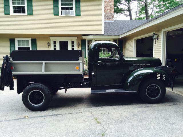 154932 1946 Gmc Dump Truck