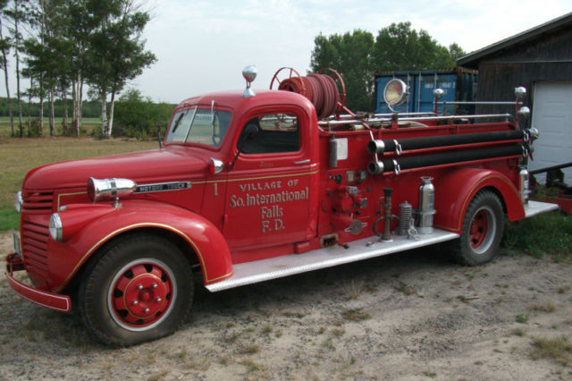 1946 gmc fire truck classic gmc other 1946 for sale for Gmc motors for sale