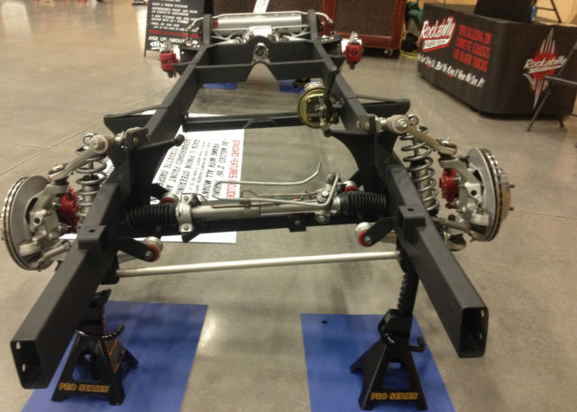 1947 1959 chevy truck chassis with corvette suspension for Chevy truck with corvette motor