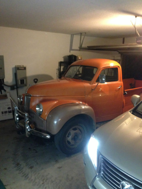 Throw Out Bearing >> 1947 47 studebaker classic pickup truck collector ...