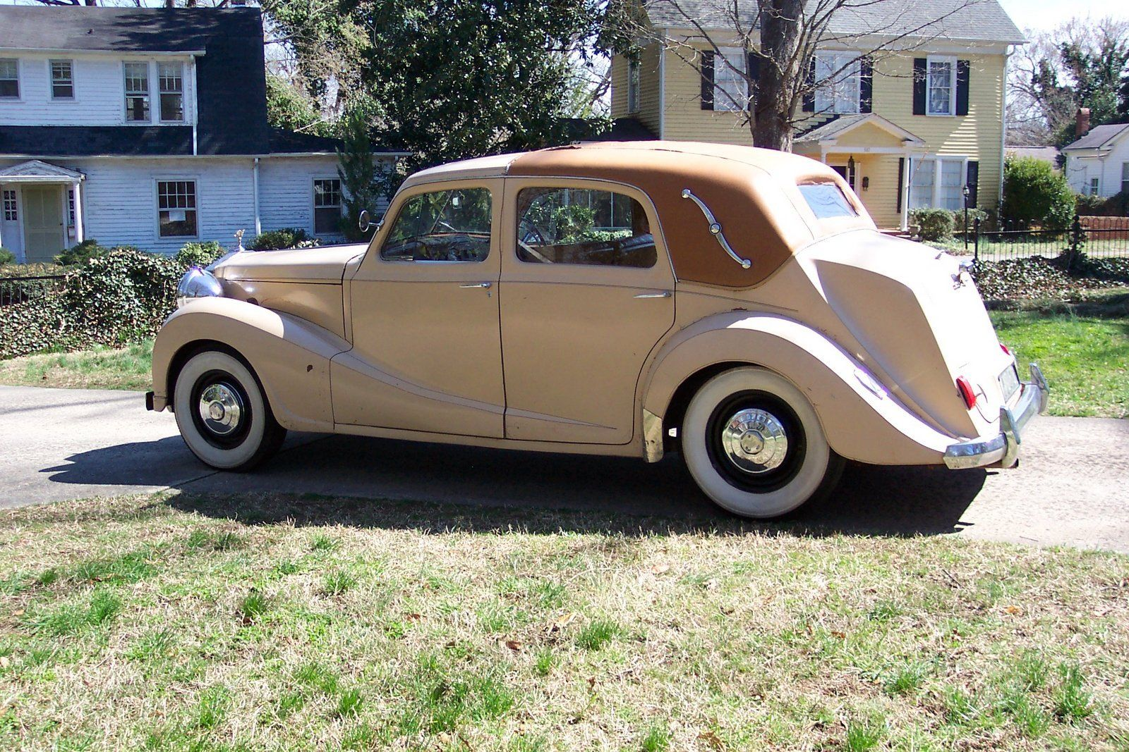 1947 Austin Sheerline Rare Limited Production Auto
