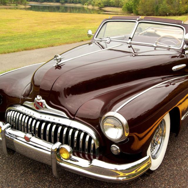 St Louis Gmc Dealers: 1947 Buick Roadmaster Convertible,Original Introduction