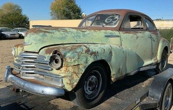 1947 Chevrolet Coupe Project Car Nr No Reserve Auction