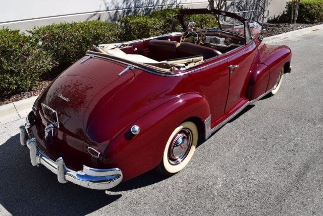 Chevrolet Fort Myers >> 1947 Chevrolet Fleetline Convertible - SHOW QUALITY - Classic Chevrolet Fleetline Convertible ...