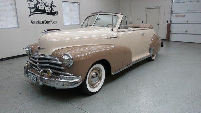 1947 Chevrolet Fleetmaster Cabriolet Convertible Very