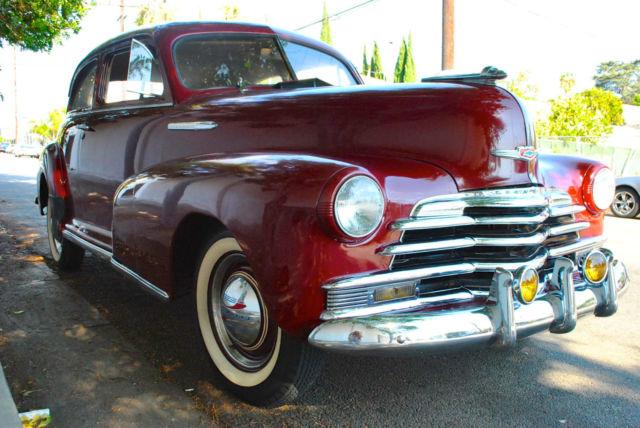 1947 chevrolet stylemaster 2 door business coupe for 1946 chevy 2 door sedan
