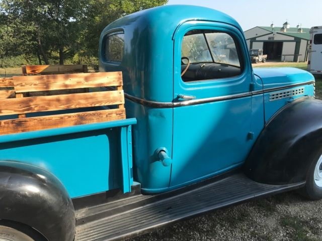 1947 Chevy 1 2 Ton Pick Up Truck With Pictures And Video