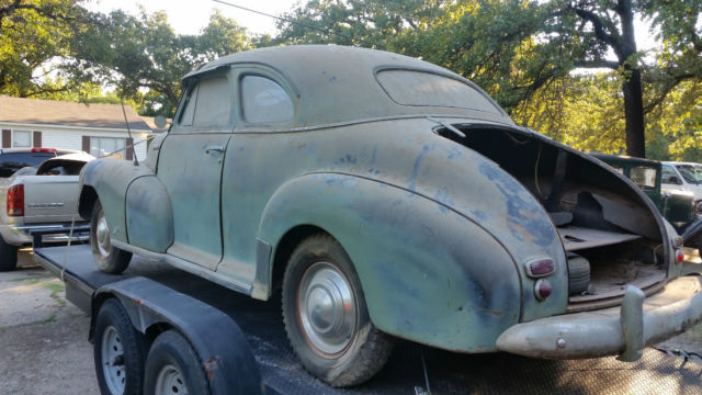 1947 Chevy Stylemaster 2dr Business Coupe Barn Find