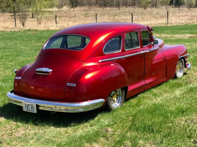 1947 Chrysler Windsor 350 V8 Nova Frame Chevy Rear Suicide ...
