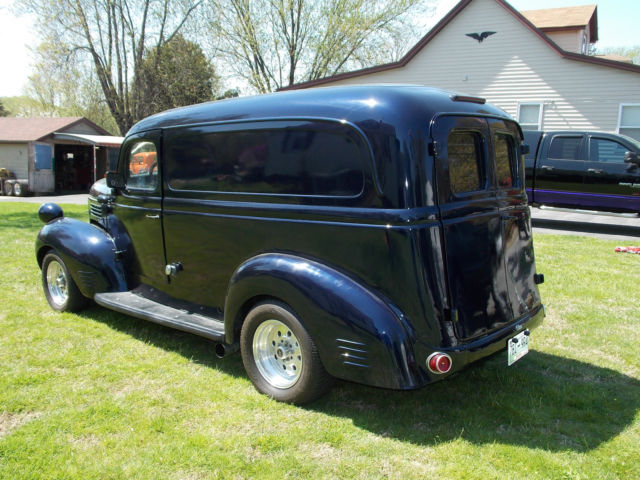 1947 dodge bros panel truck street rod 383 c i torqueflite nice cond video classic dodge. Black Bedroom Furniture Sets. Home Design Ideas