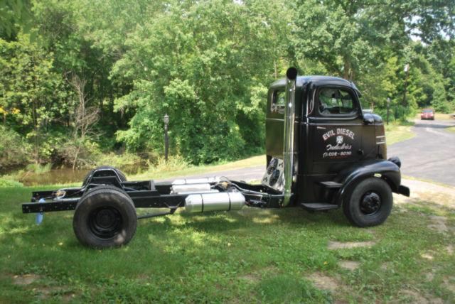 1947 Dodge Cabover Coe Rat Rod Project Patina Rat Truck