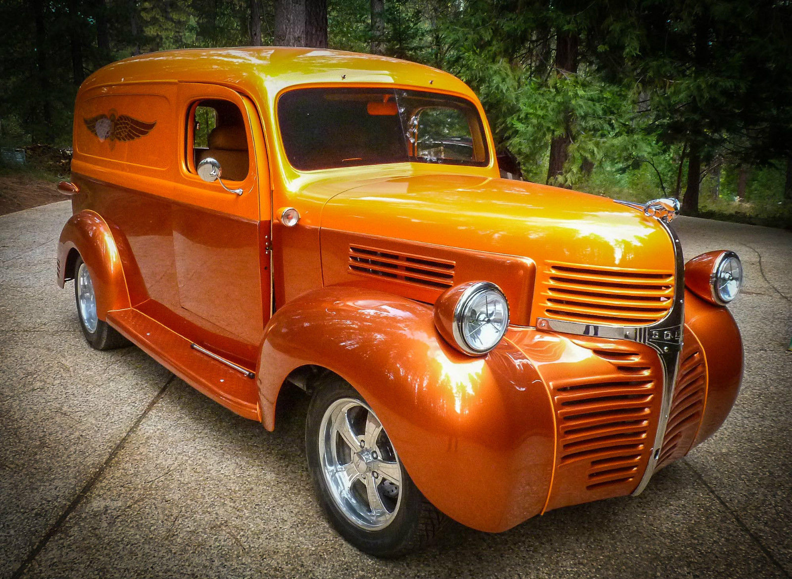 1947 dodge panel delivery custom resto mod street rod classic dodge other pickups 1947 for sale. Black Bedroom Furniture Sets. Home Design Ideas