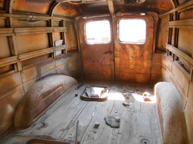1947 Dodge Panel Delivery Truck Project Rat Rod Classic