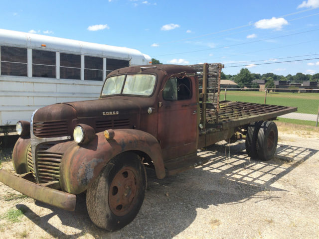 Used Chevy Trucks For Sale Near Me >> 1947 Dodge Truck WF-34, One ton flat bed ratrod Dodge Antique Dodge NO RESERVE ! - Classic Dodge ...