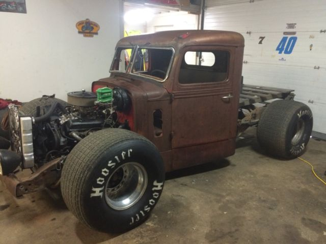 1947 federal semi rat rod on chevy 1500 chassis classic. Black Bedroom Furniture Sets. Home Design Ideas