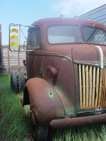 1947 Ford COE cab over truck 1940 car hauler survivor ...