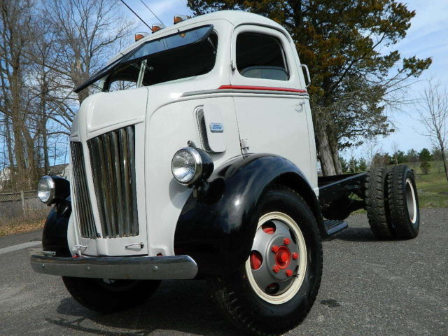 Ford Coe Truck Flathead V Flatbed Car Hauler One Awesome Rare Truck