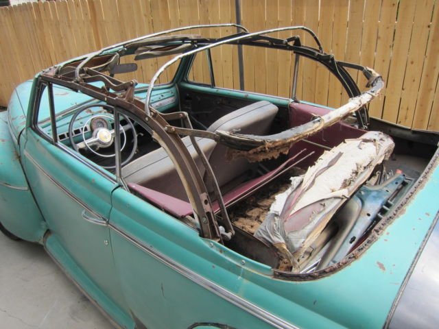 Used Cars In Albuquerque >> 1947 Ford Convertible with extra parts 1946 1948 1932 1934 ...