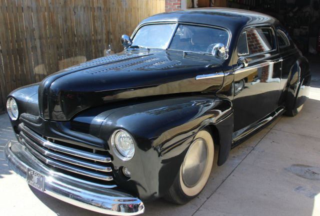 1947 Ford Coupe Custom Street Rod Chopped Amp Channeled