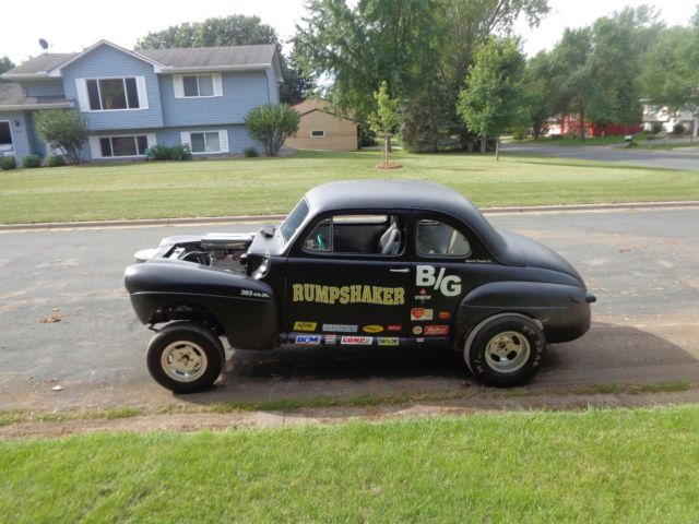 1947 Ford Coupe Gasser Classic Ford Coupe Gasser 1947 For Sale