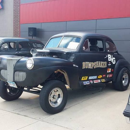 1947 Ford Coupe Gasser Classic Ford Coupe Gasser 1947