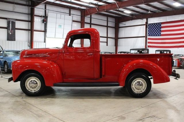 1947 Ford F1 Pickup 0 Red Pickup Truck Inline 6 Manual